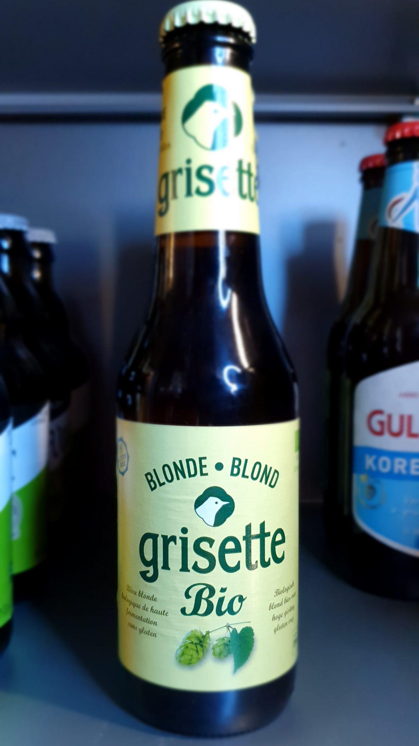 Grisette blond -Glutenvrij- van brouwerij St. Feullien