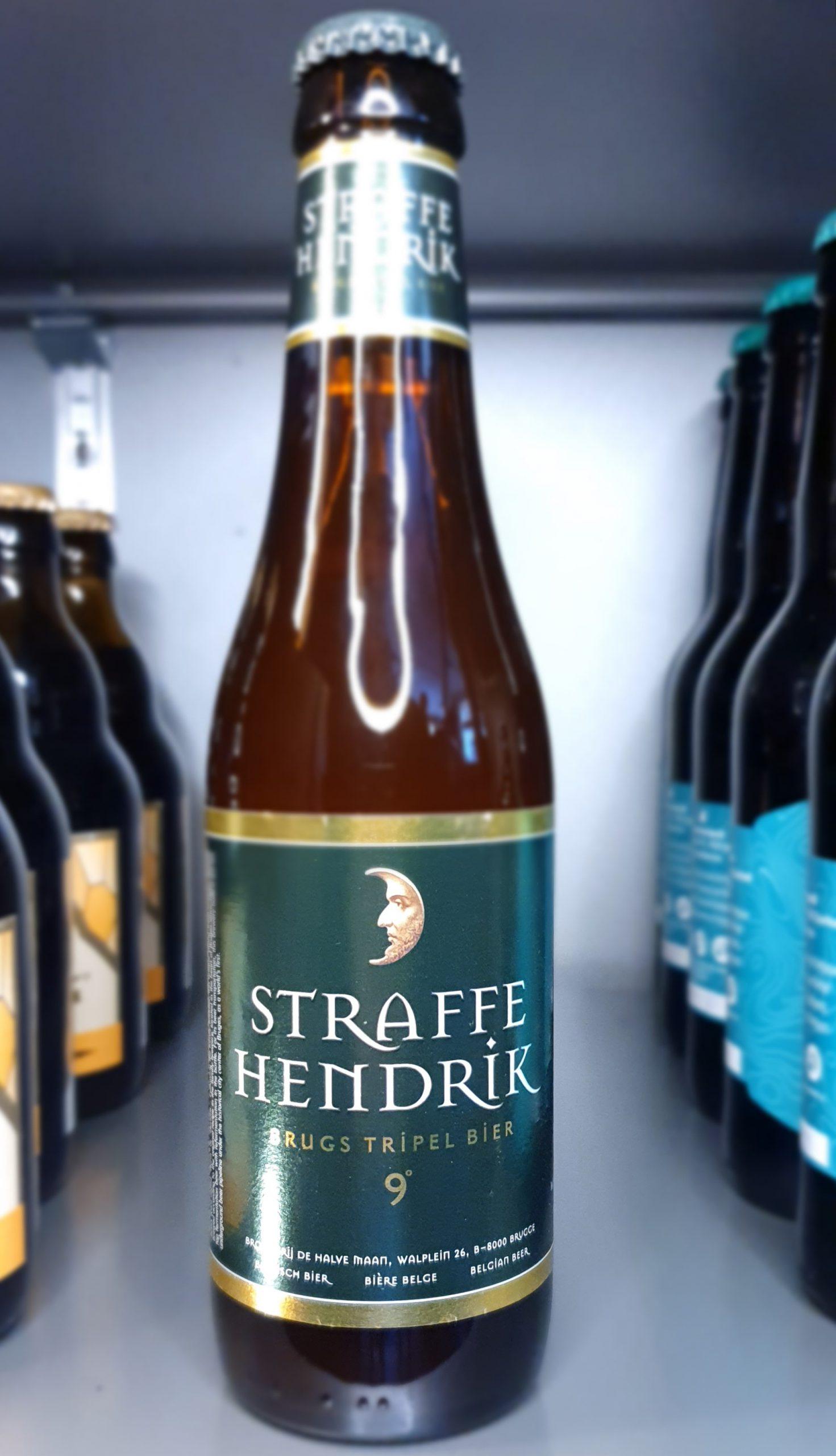 Straffe hendrik Tripel brouwerij halve Maen
